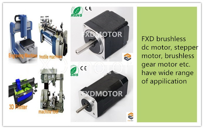 Wide range of FXD motors