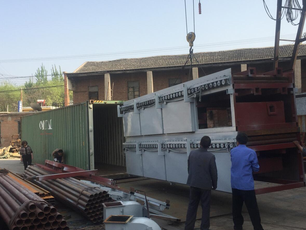 1500MM X 24M ROLLER DRYER LOADING TO MEXICO