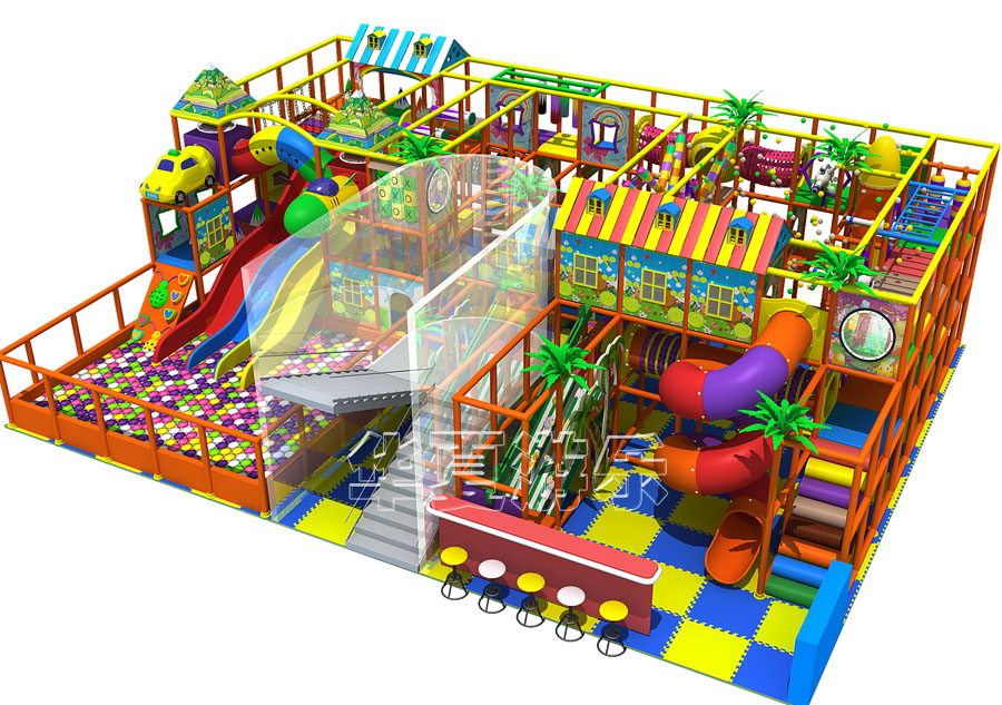 Big Size Indoor Play Structure Guangzhou Tongyao Healthy