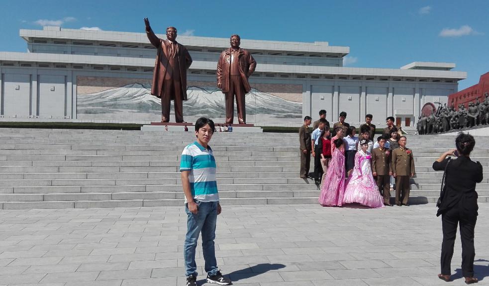 Install machine in North Korea