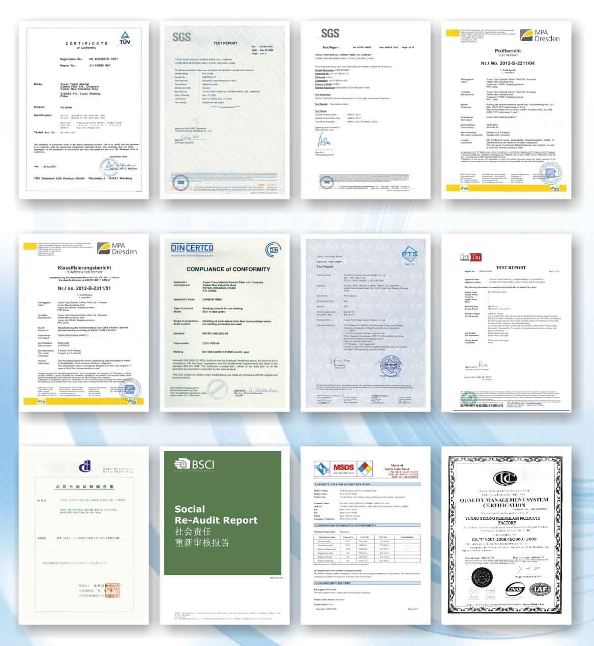 Certificate of company system