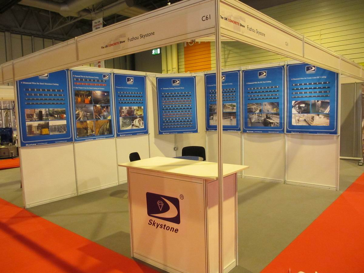 Skystone at UK Concrete Show