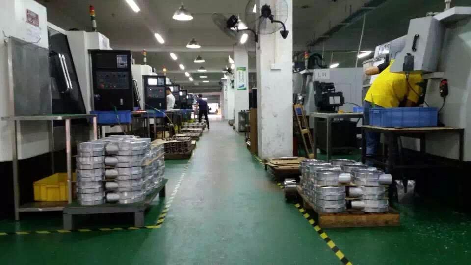 CNC center for vacuum pump