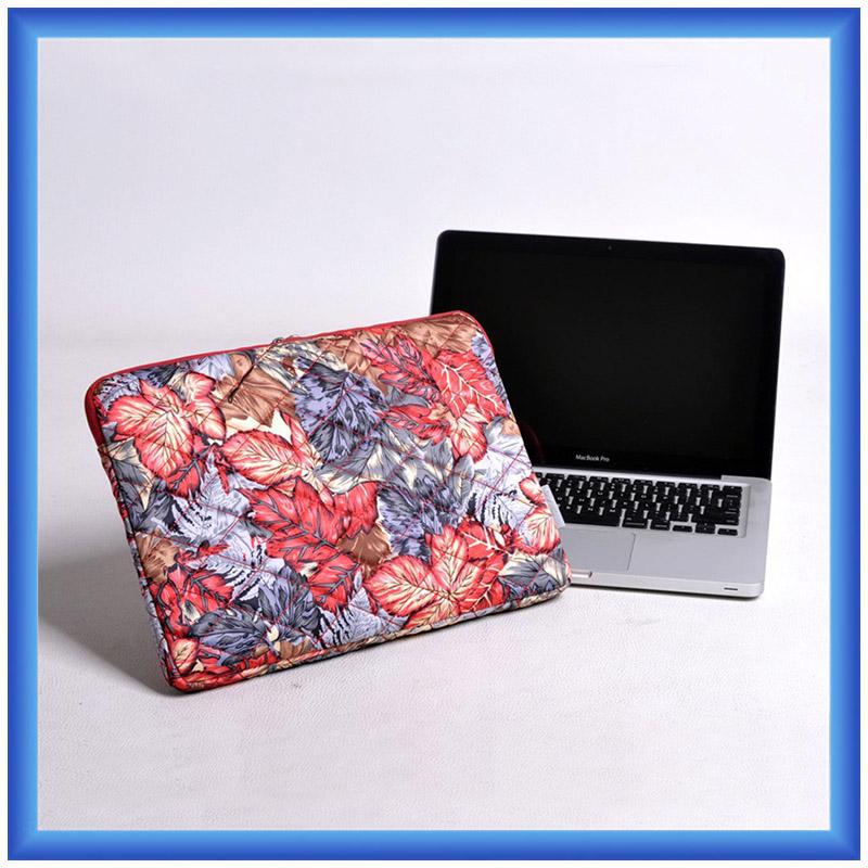 fashion printing nylon laptop sleeve,durable laptop bag