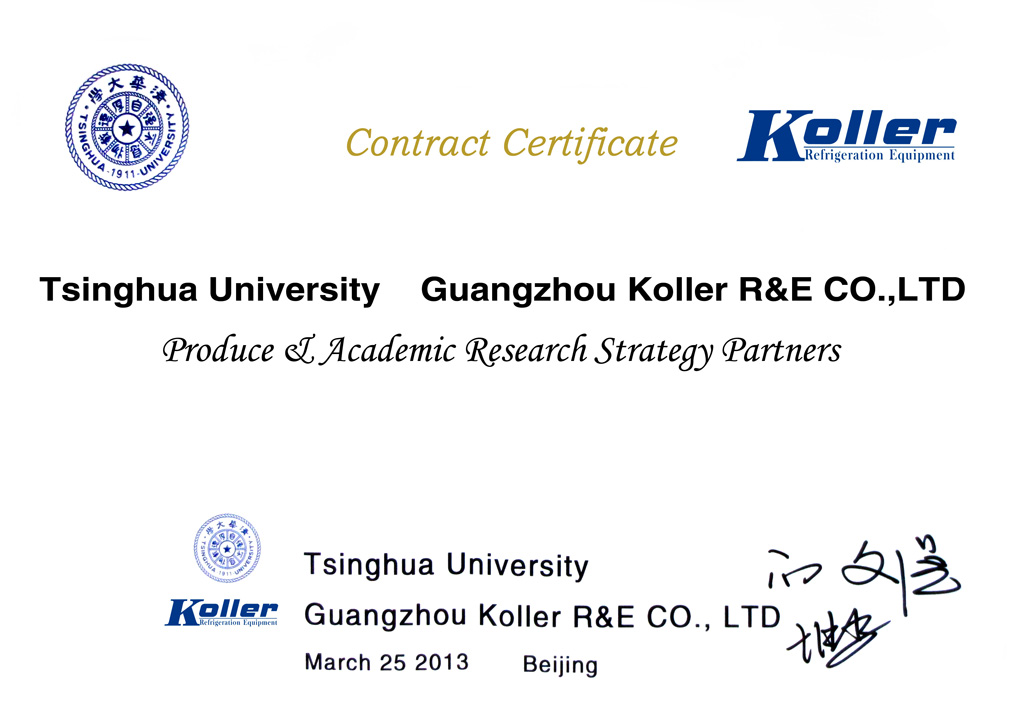 Contract Certificate