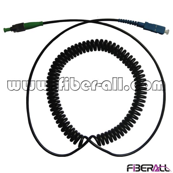 Spring Fiber Optic Patch Cord