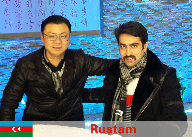 Rustam from Azerbaijan