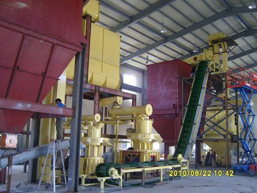 Korea wood pellet production line (3-4T/H)