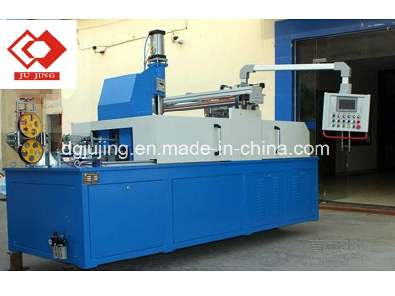 PLC cable coiling and wrapping machine