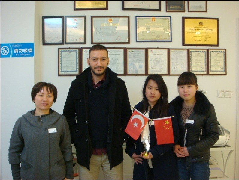 Turkey customer visit