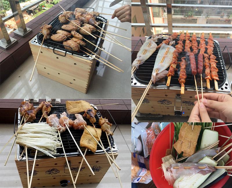 Interesting company activities & test machine - - BBQ