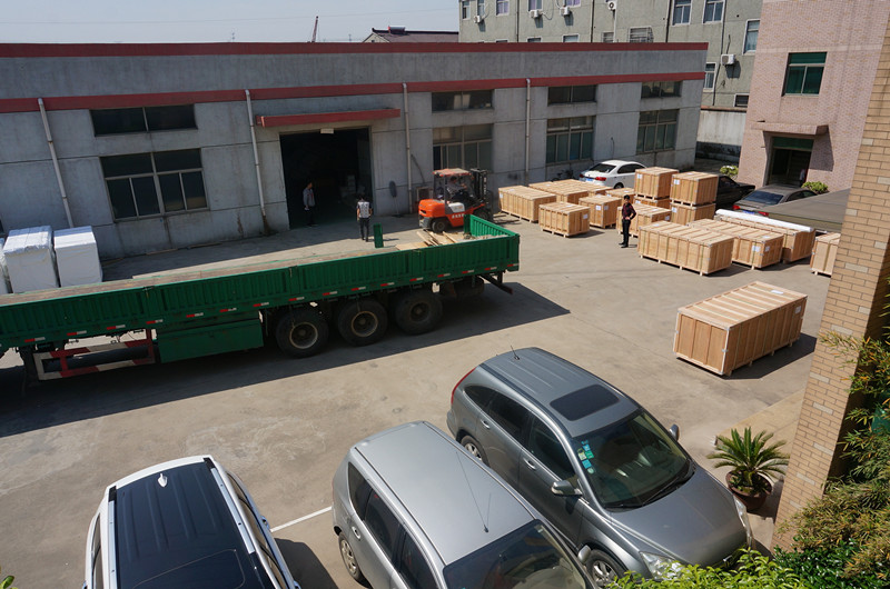 ChuangGao Exhibition --Loading (makde delivery)