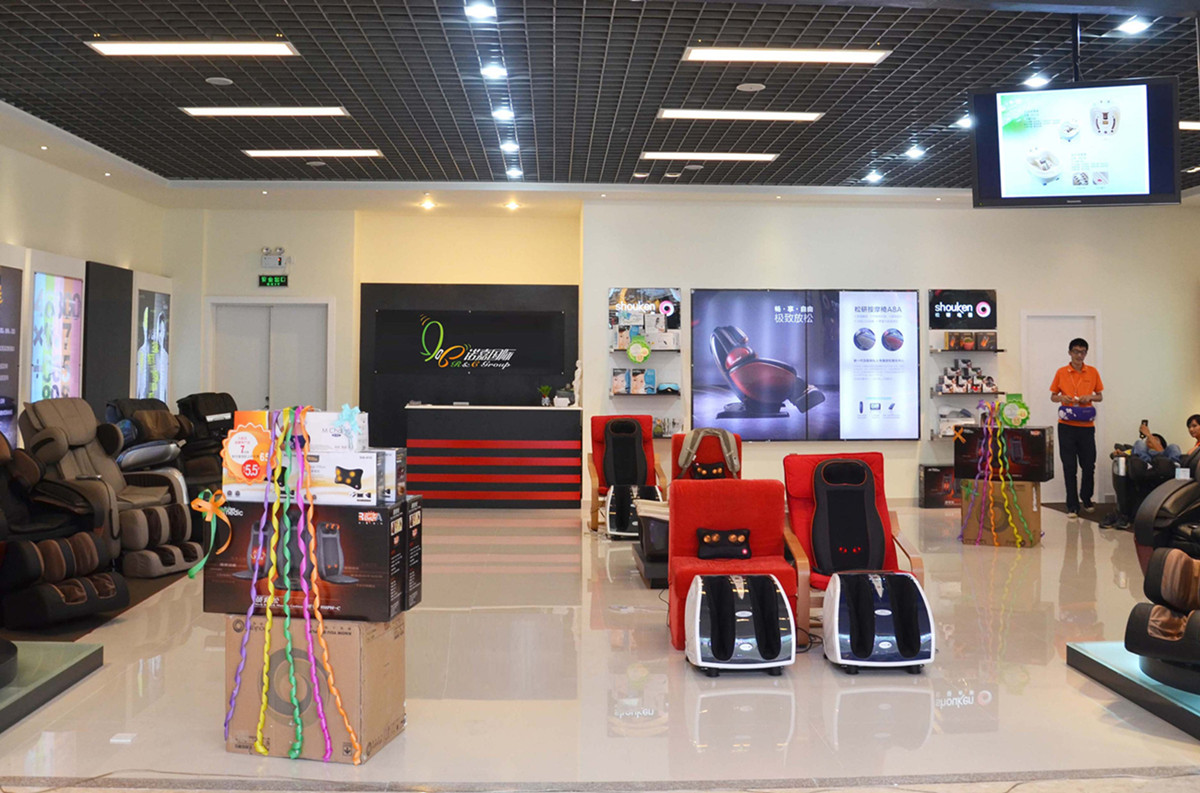 RCG Brand Store in Shopping Mall