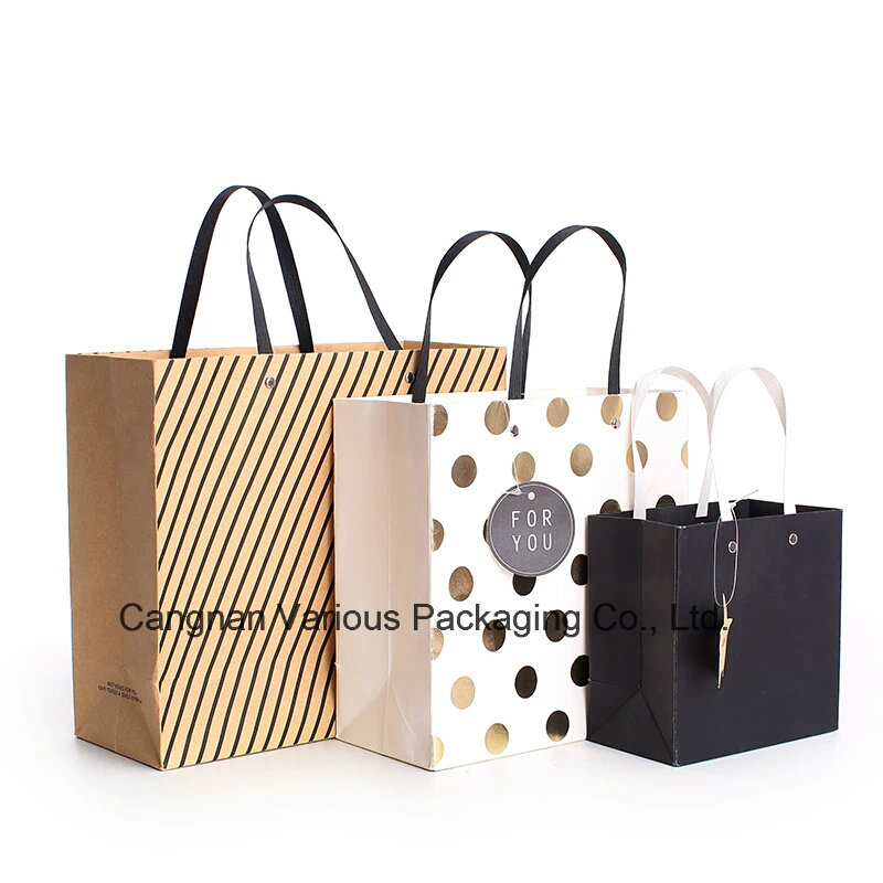 Professional Customized Paper Shopping Bag, Packaging Bag
