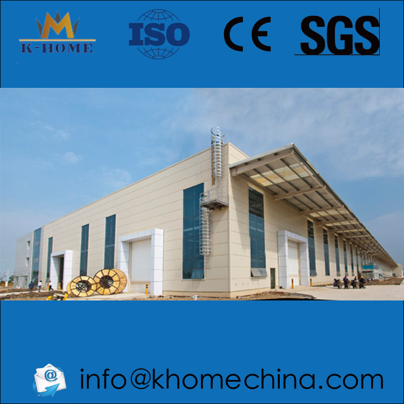 Steel Structure Frame Workshop Project For Sany Heavy Industry