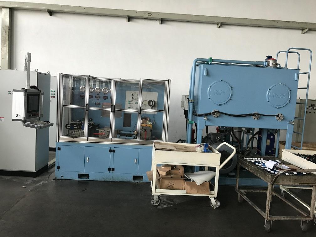 hydraulic system testing