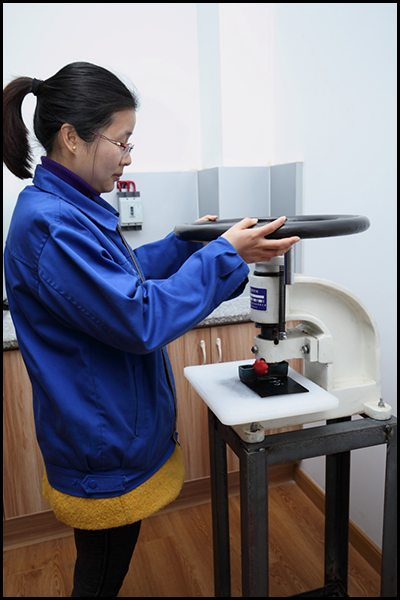 Lab testing for each batch of raw material