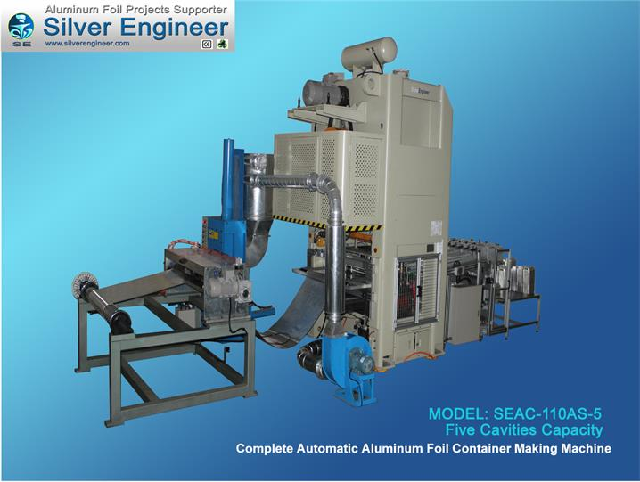 Aluminum Foil Container Machine 110Ton