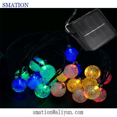 solar christmas led string light