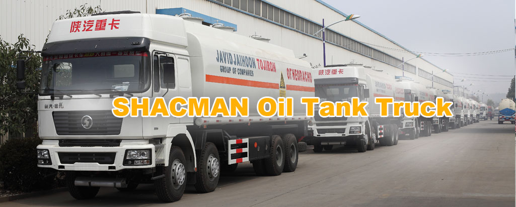 10units shacman oil tank truck to Uzbekistan
