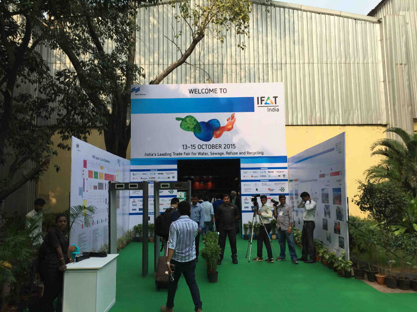 The IFAT Exhibition in Mumbai in 2015