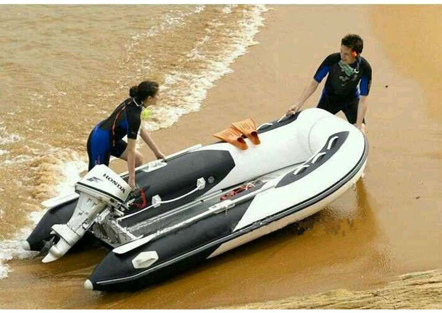 Aqualand 12feet 3.3m-3.6m rigid inflatable fishing boat/rib motor boat (RIB360)