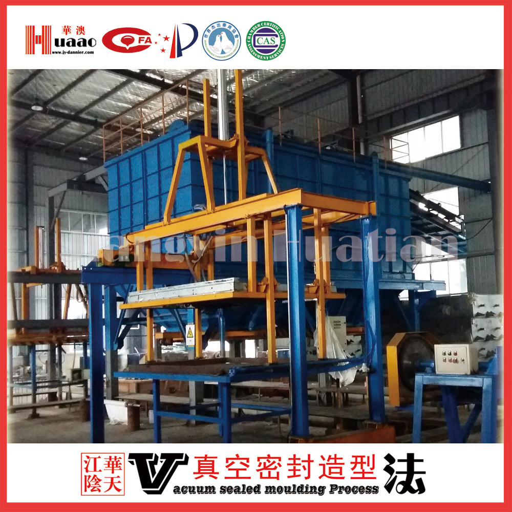 Changzhou port of pu materials co., LTD. V method casting production line