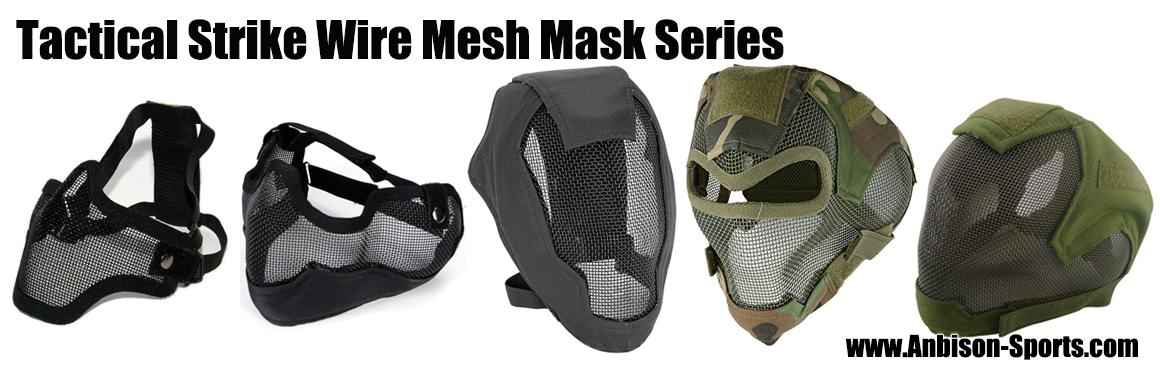 Airsoft Strike Wire Mesh Masks Series