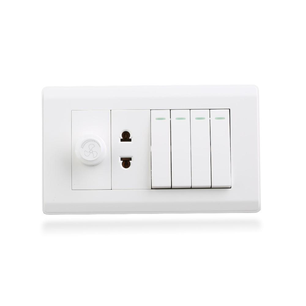 Pakinstan type small putton wall switch