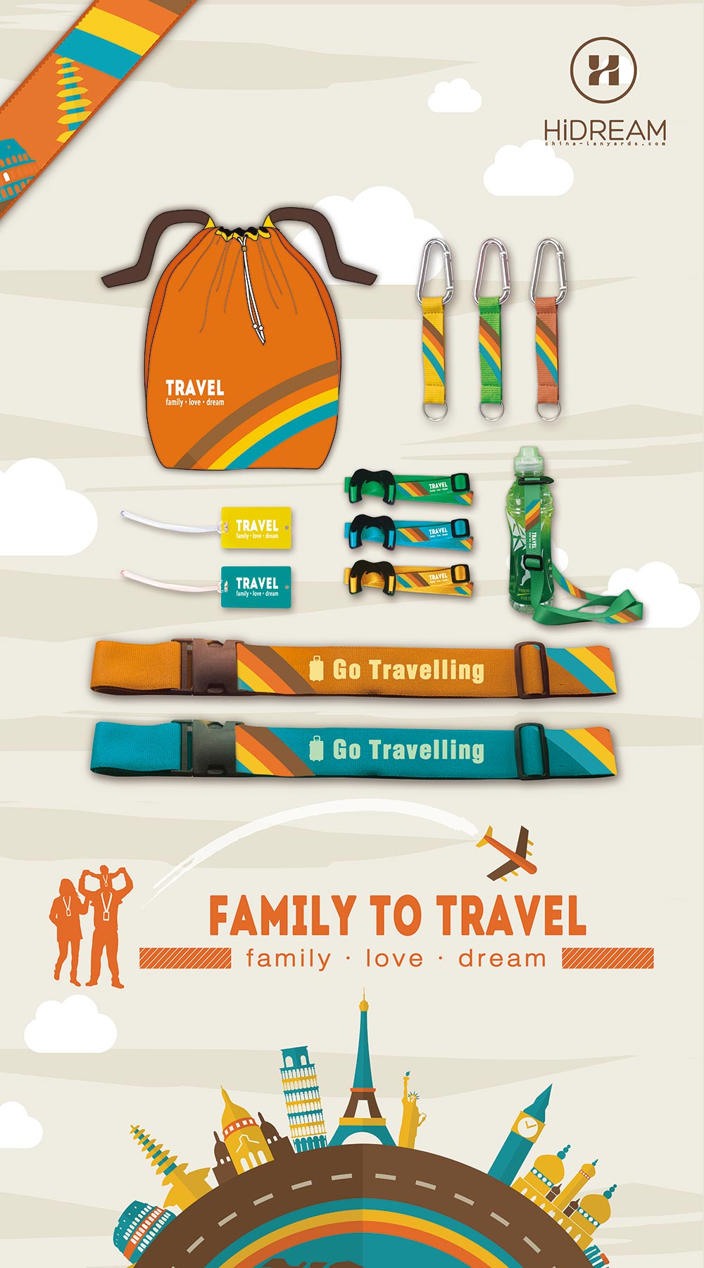 Travel Theme Design