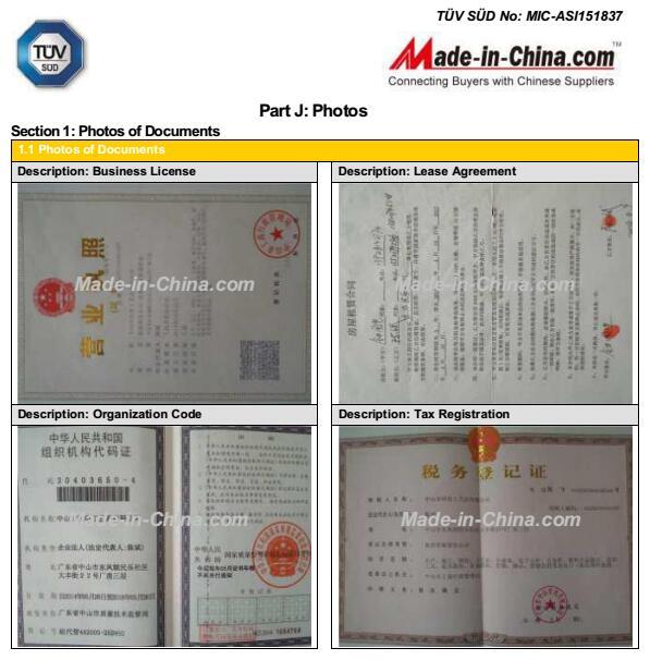 TUV Documents