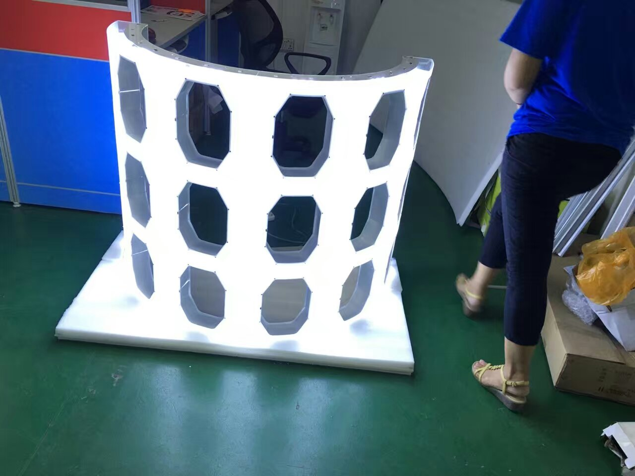 Customized Foldable LED Module Serials for Oversea Client