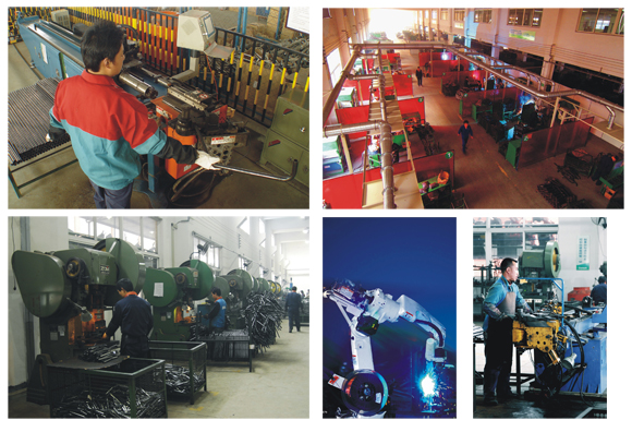 Luyuan Metal Spare Parts Process