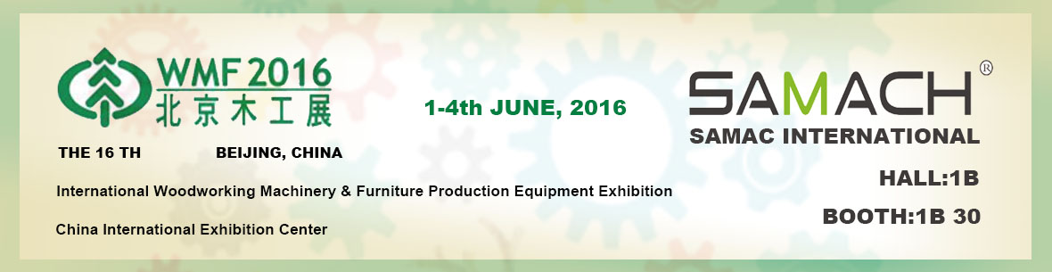 2016 Beijing Woodworking Machinery Exhibition 1-4th June