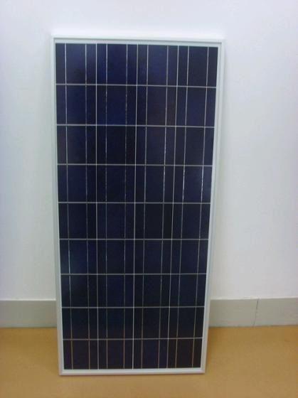 150W poly solar panel