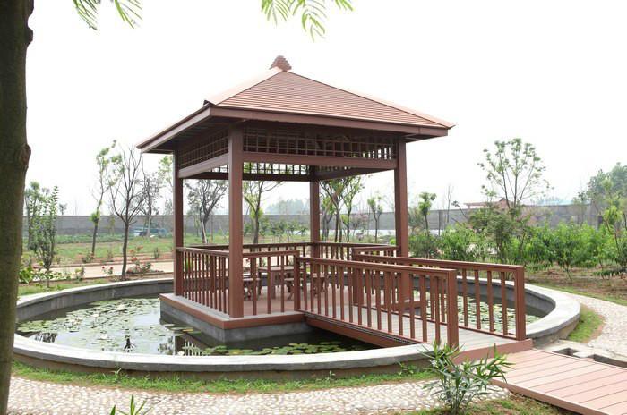 Zhuyuwan park pavilion project
