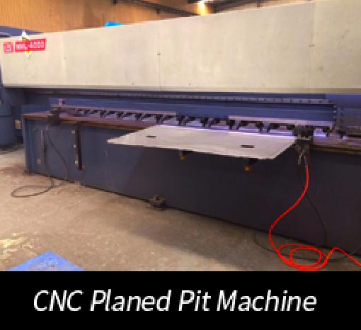 CNC Planed Pit Machine