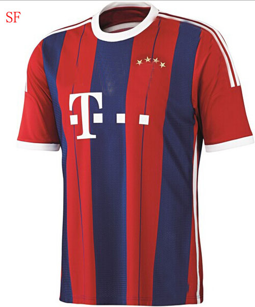 2014 2015football jersey bayer soccer jersey t shirt