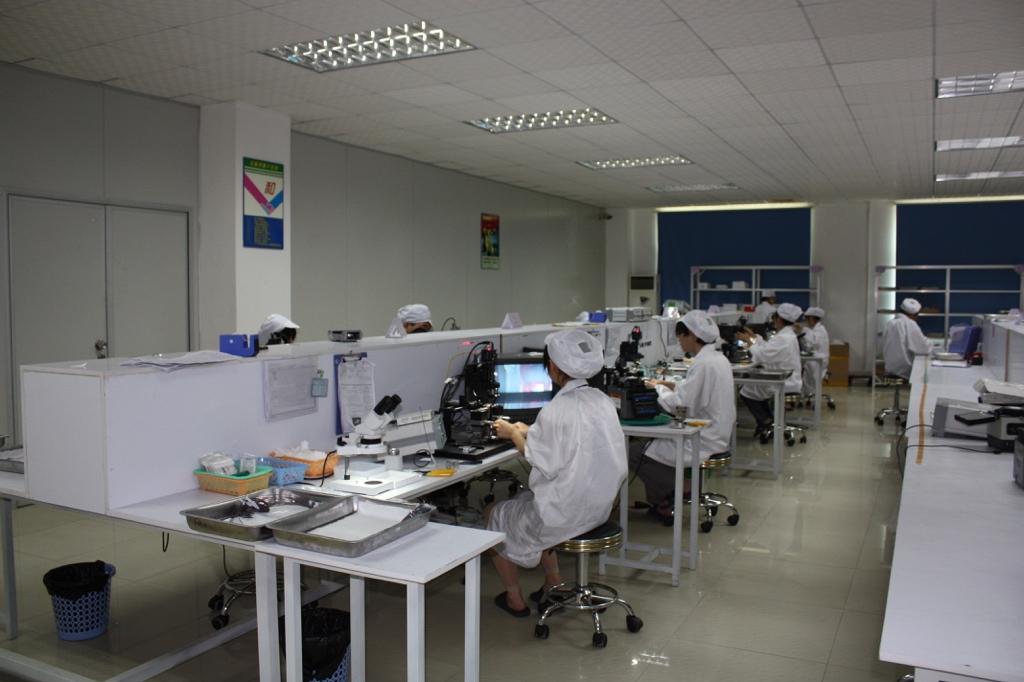 FBT fiber optic coupler production