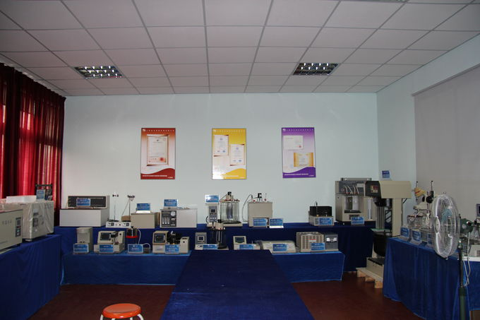 The company builds exhibition hall of petrochemical instrument-2