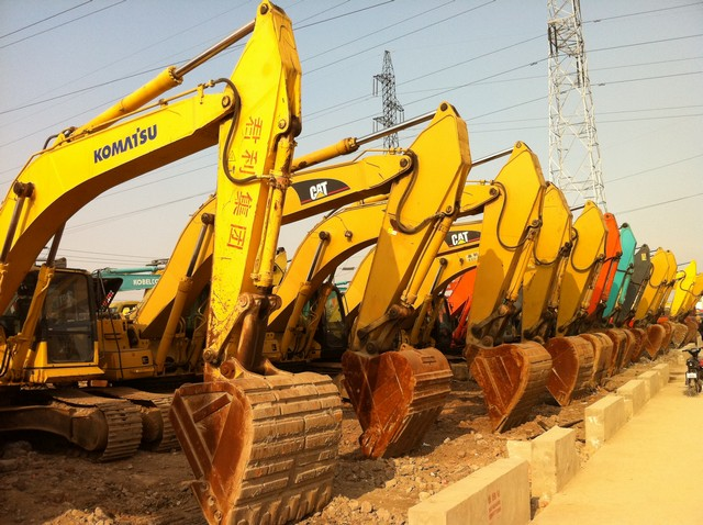 Excavator Section of Our Company