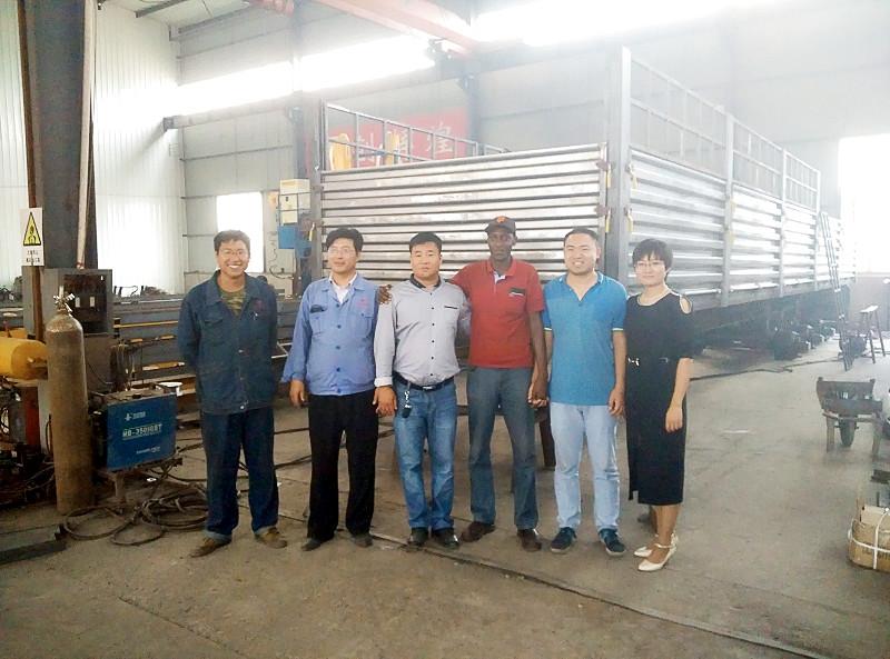 Storage semi trailer shipped to Kenya