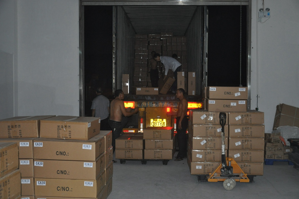 Shipment in May 2016, 05