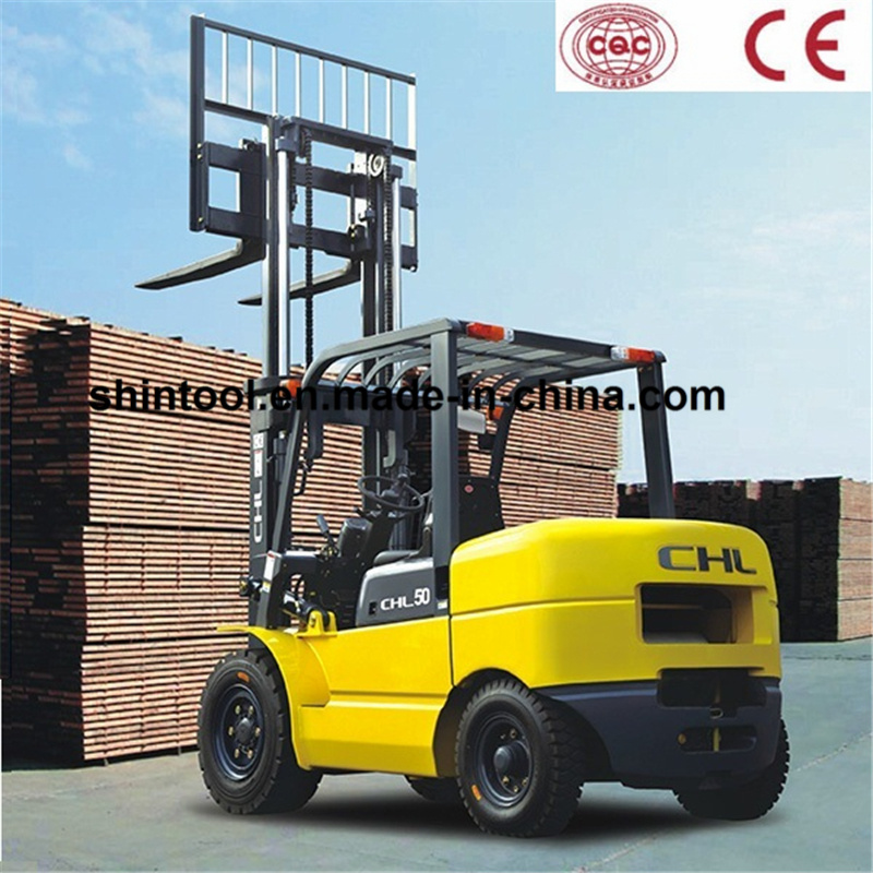 Heli 5 Ton Forklift with Japanese for Mitsubishi Engine