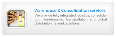 Warehouse & Consolidation services