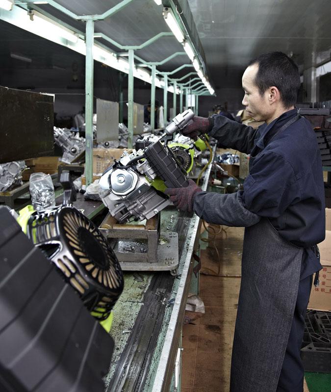 workshop-engine assembling