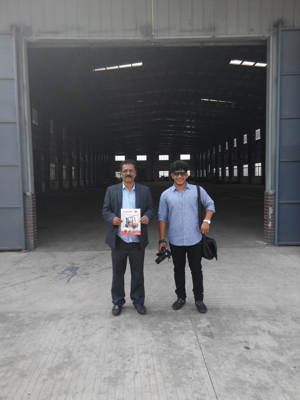 India customer came to our factory