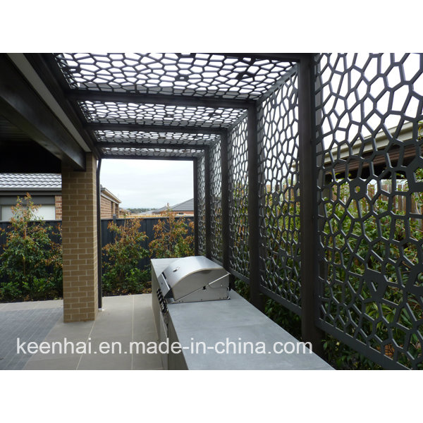 Laser Cut Facade Fence Panel