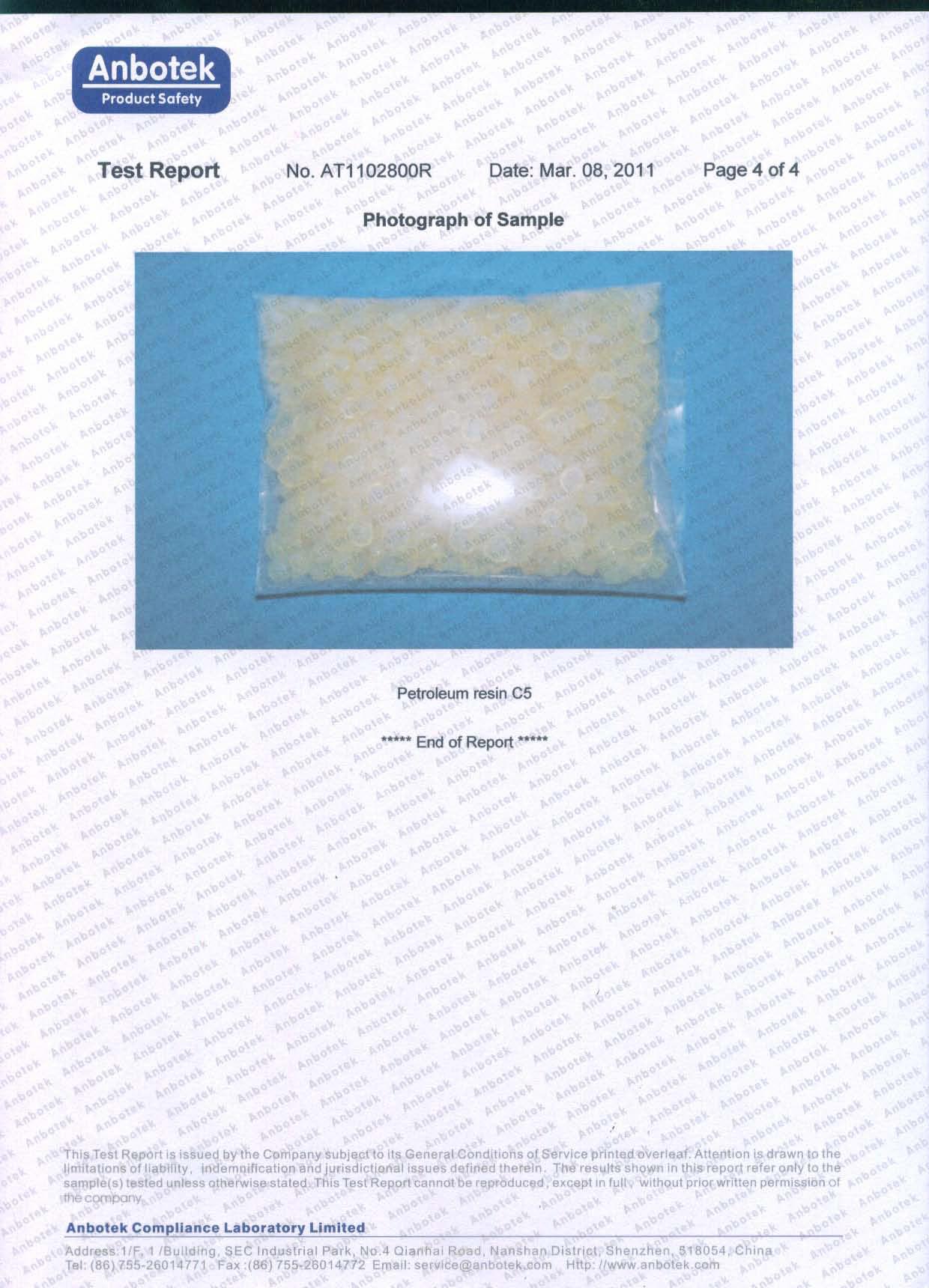 SG-5102 PAHs (page 4)