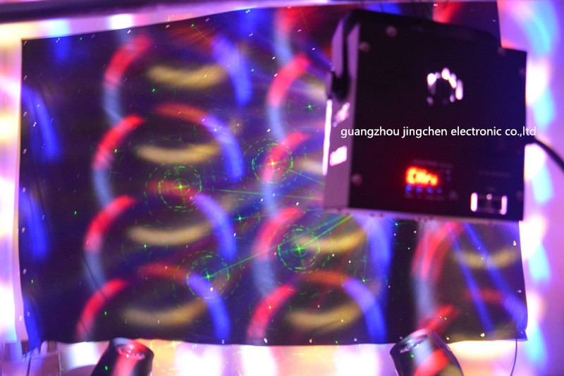 LED Dual Swords Laser Light